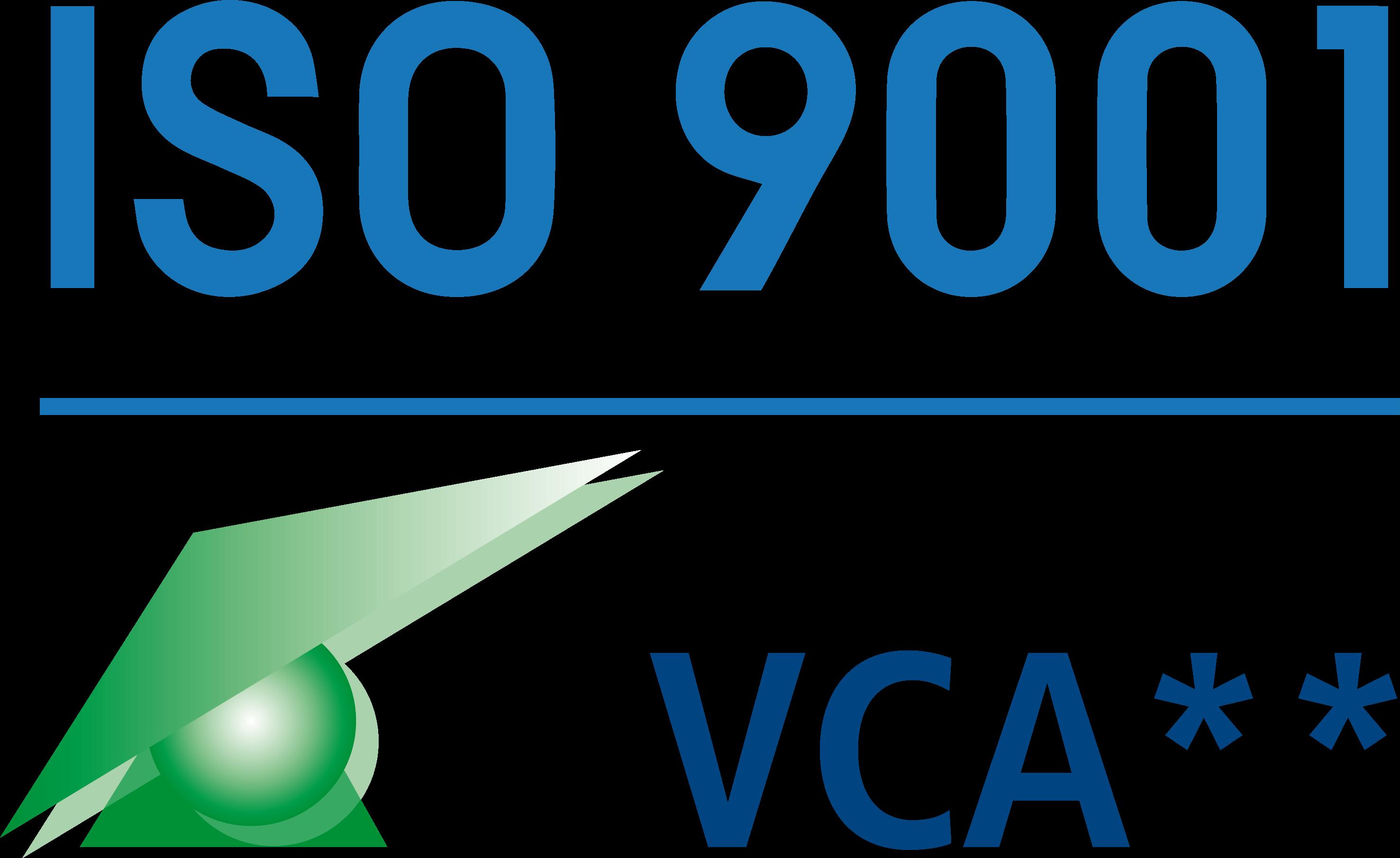 TAB ISO en VCA gecertificeerd